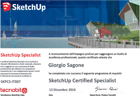 certificazione-Sketchup