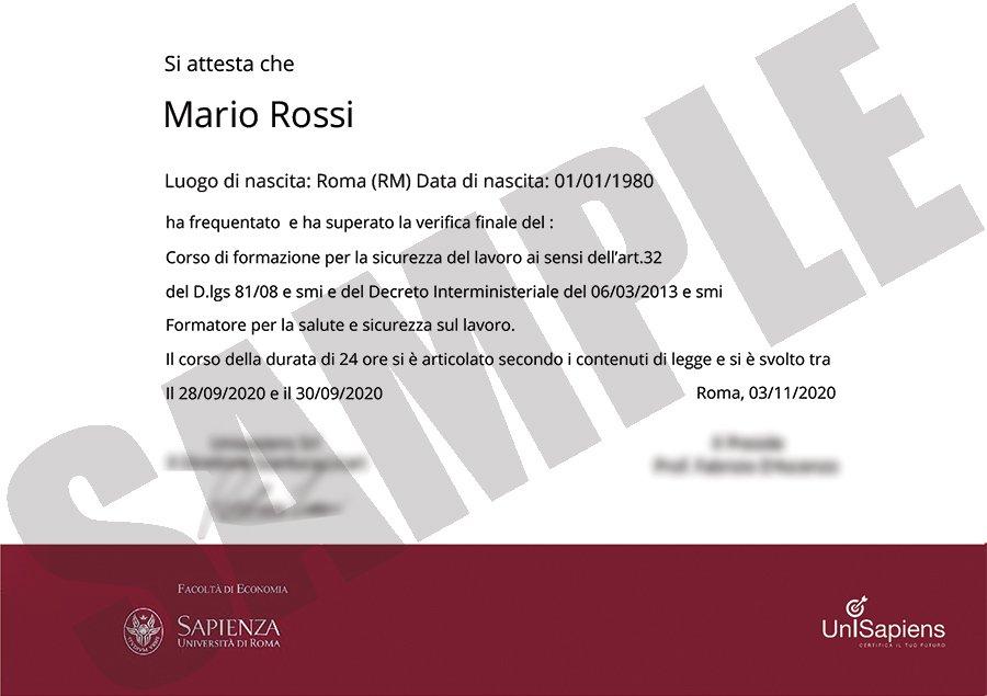certificato-sicurezza-sample