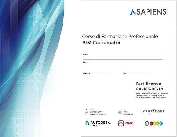 certificato-bim-coordinator-asapiens
