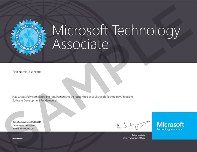MTA_Certificate_Sample