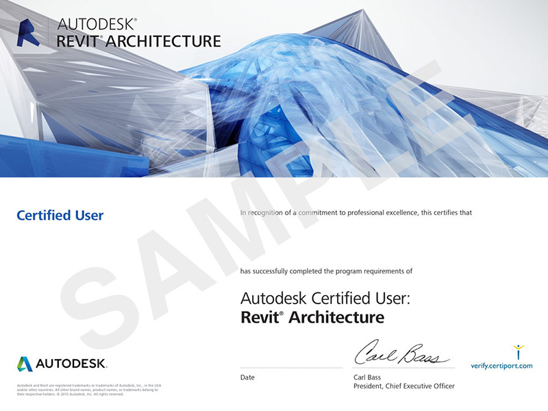 ACU_RevitArch_Certificates_Sample