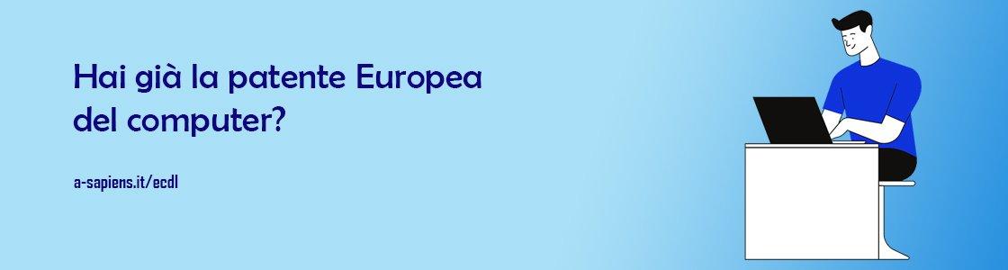 patente europea computer ecdl come si consegue