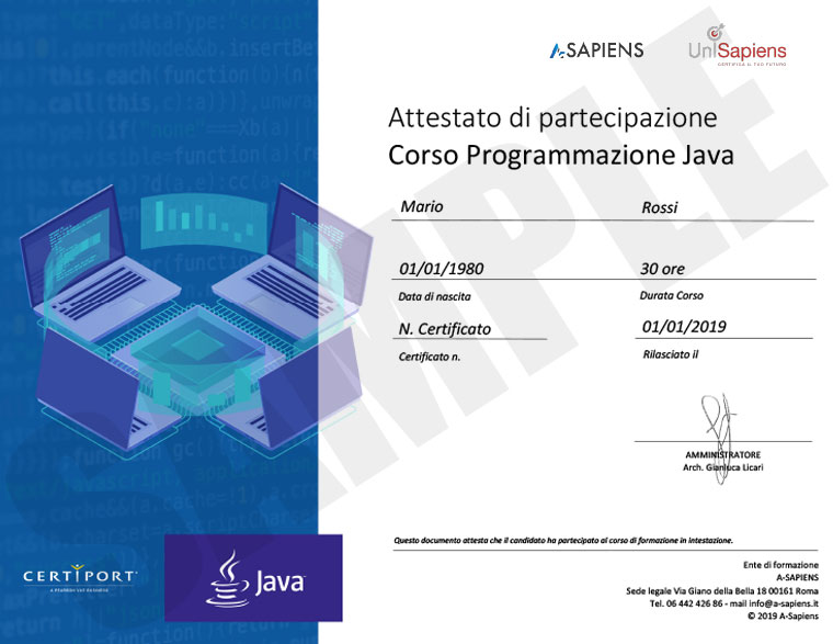 java_sample_partecipation_certificate