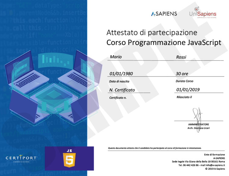 javascript_sample_partecipation_certificate