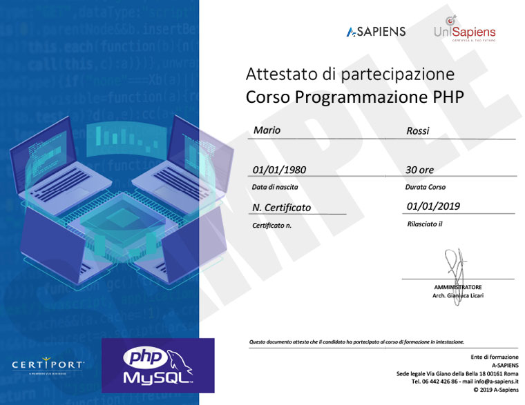 phpl_sample_partecipation_certificate