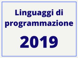 Linguaggi di programmazione: i 3 più utili da imparare nel 2019