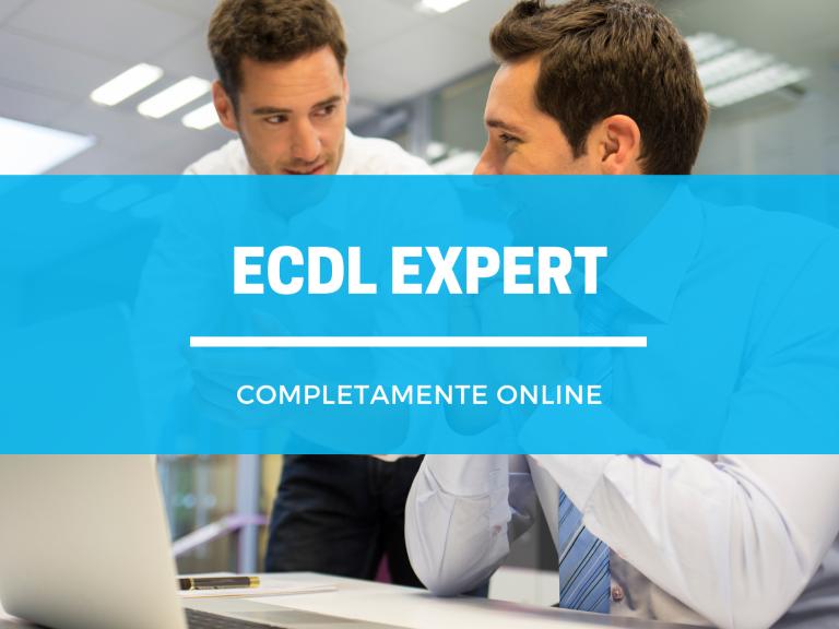 ECDL EXPERT ONLINE