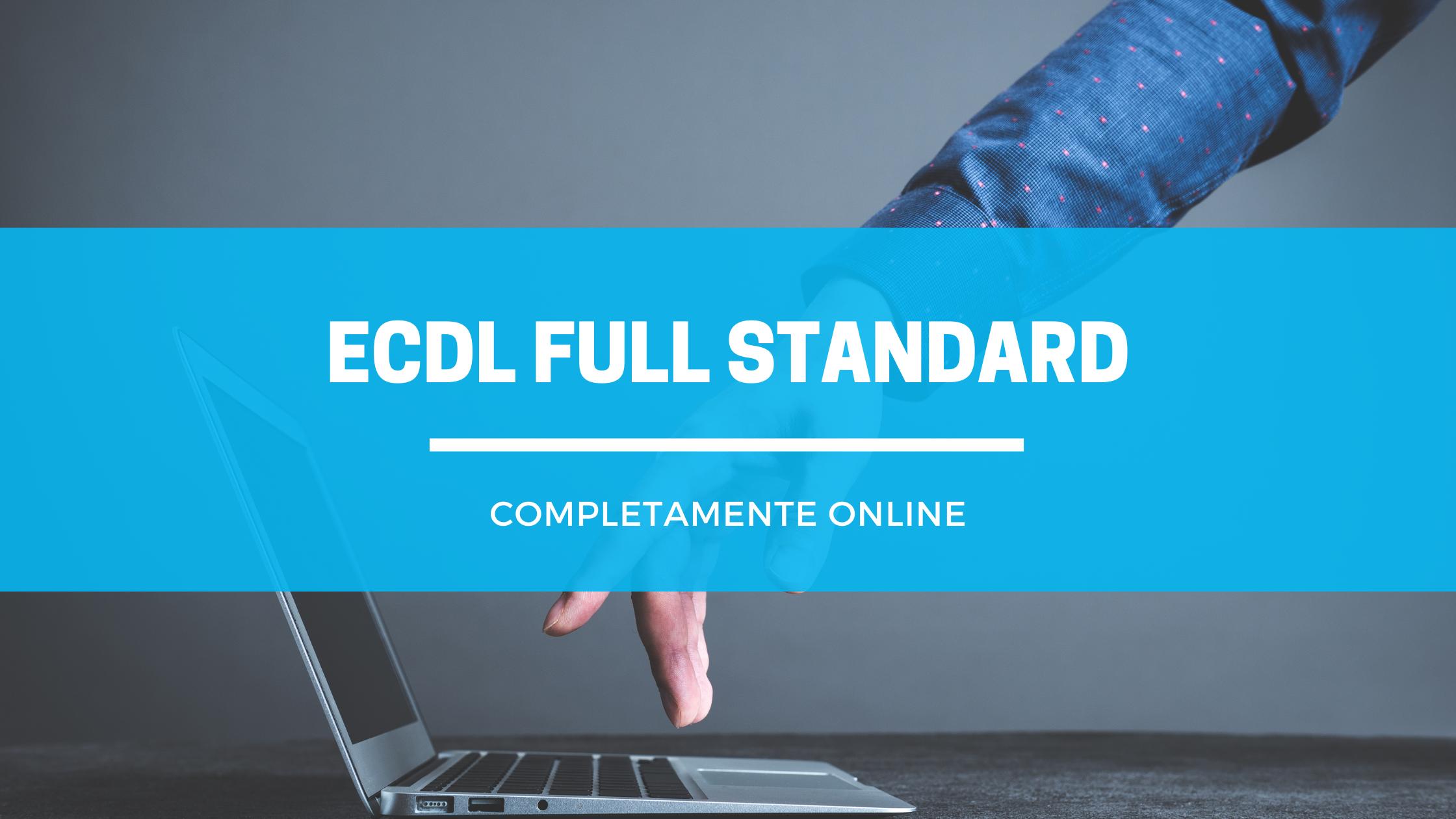 ECDL FULL STANDARD ONLINE