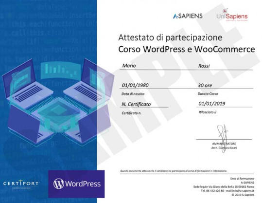 wordpress_sample_partecipation_certificate