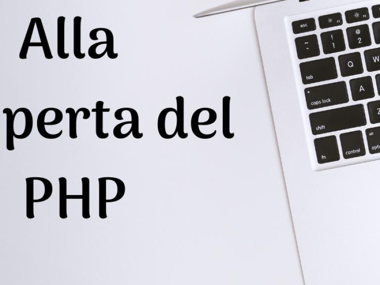 Perché e come imparare il PHP